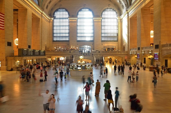 Manhattan - La stazione di Grand Central Terminal - di Redeyes5