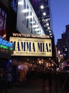 Musical Mamma mia! - Manhattan