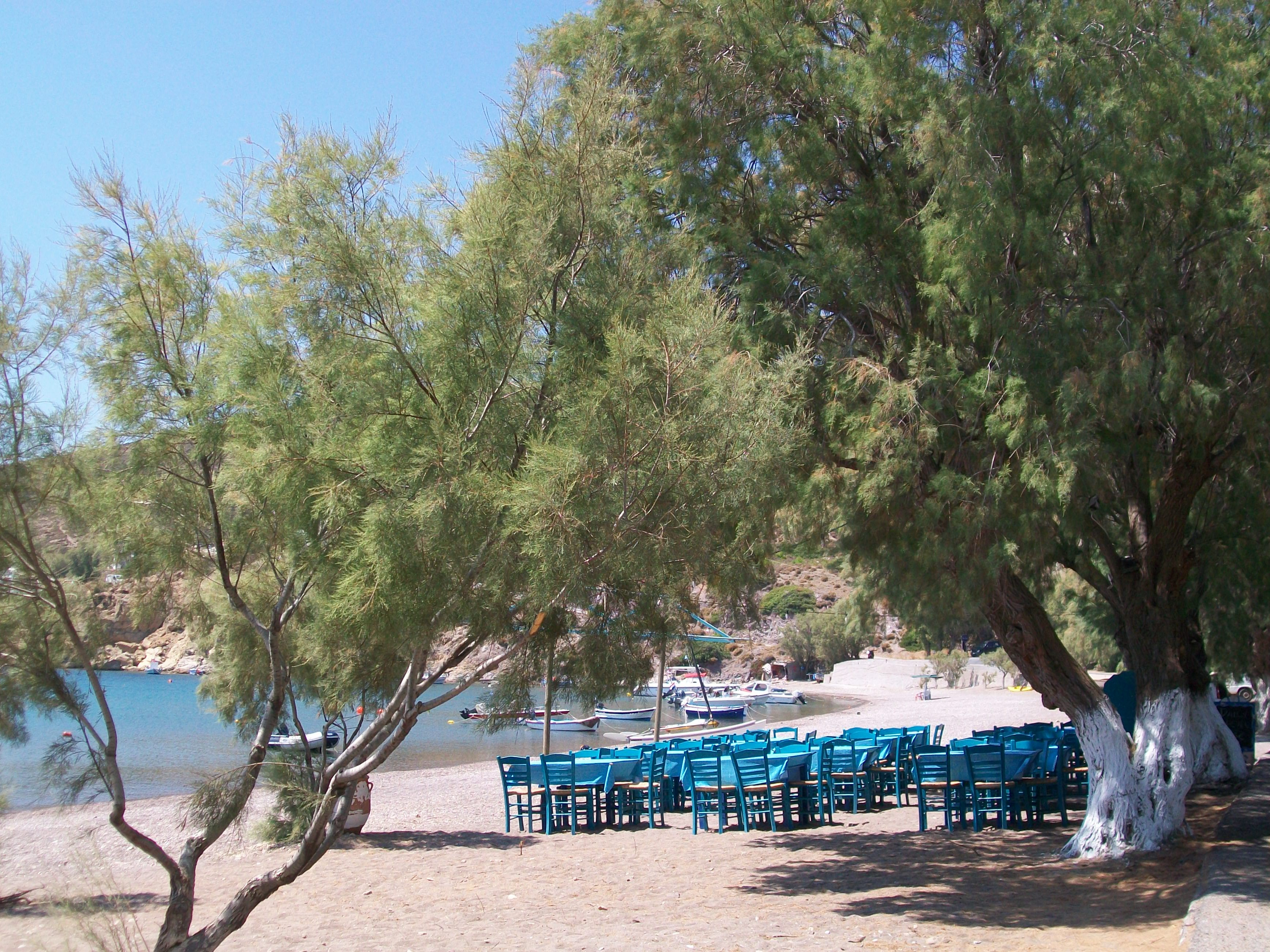Mare - Pranzo in spiaggia a Kambos