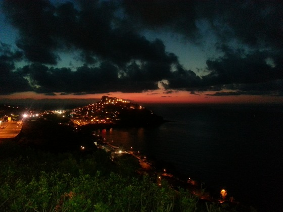 Mare - Castelsardo by night - di anelanna