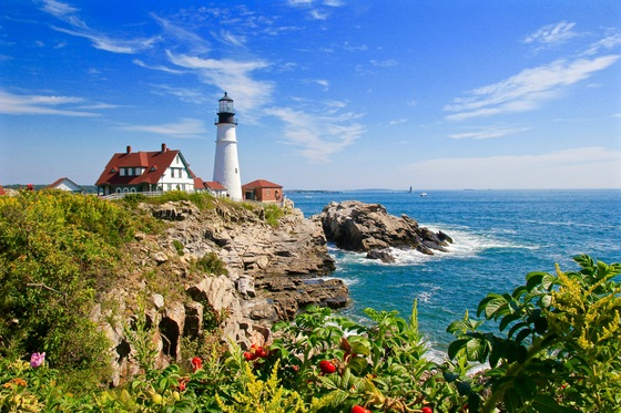 Mare - Cape Elizabeth, State of Maine, USA - di Avventura73