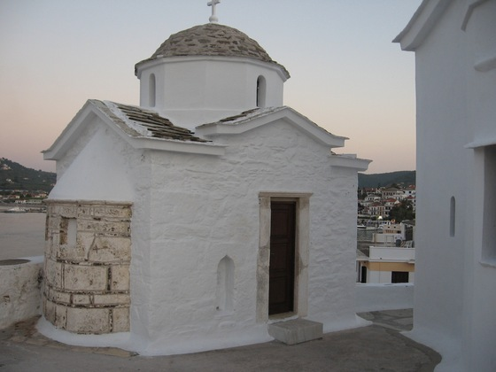 Mare - Skopelos town all'imbrunire - di marcos69