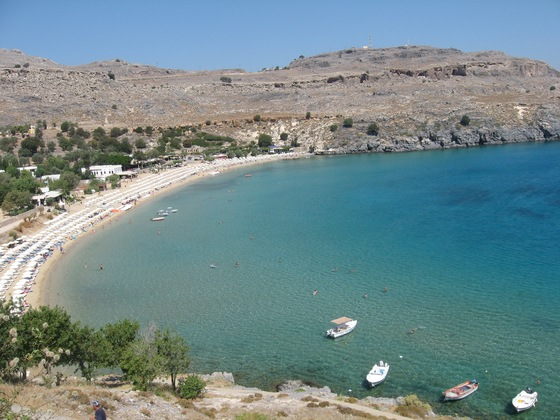 Mare - Lindos beach - di lauratiffany