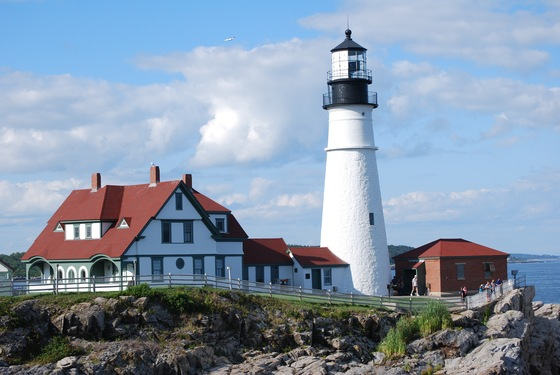 Massachusetts - Portland lighthouse, ME - di Andre&Fede