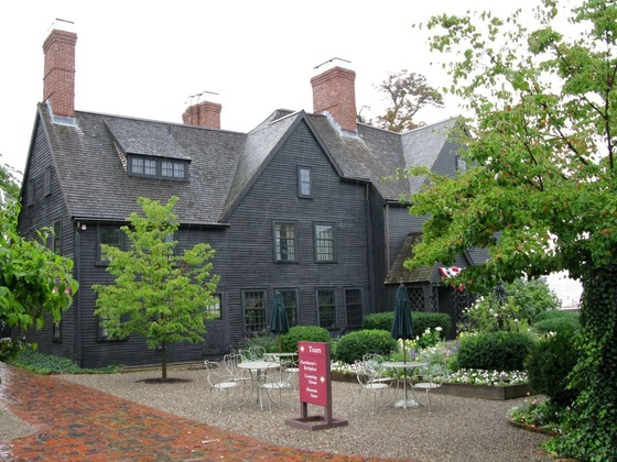 Massachusetts - Salem - the house of 7 gables - di danidisa