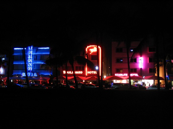 Miami, miami beach - miami beach ... by night - di motta d.