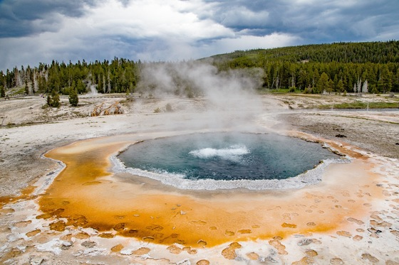 Montana - Chromatic Pool - Upper Geyser Basin - di balzax