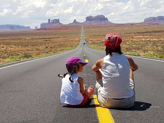 Monument Valley - On the road - di Alefrankino