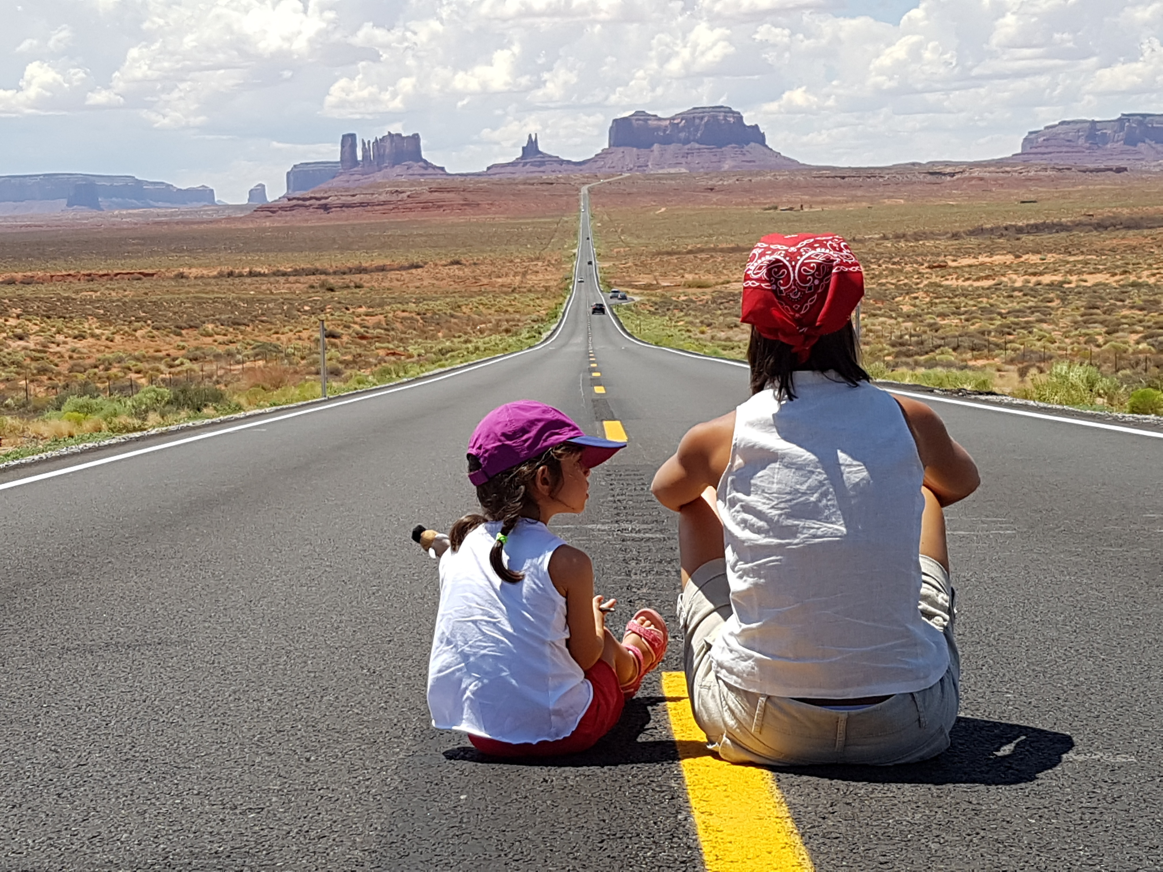 Monument Valley - On the road