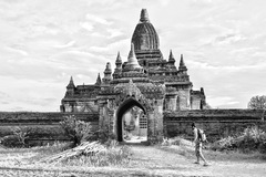 Secret Temple in Bagan - Myanmar