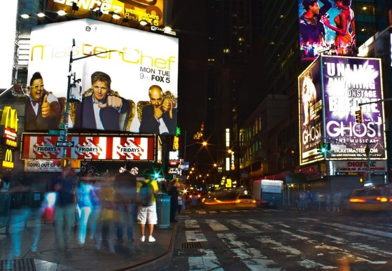 New york - Times Square by night - di dunja