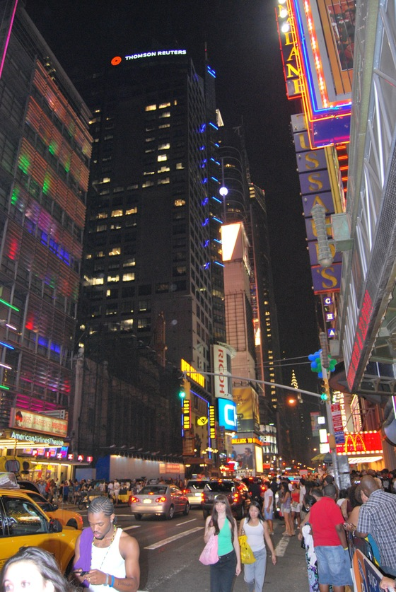 New york - MILLE LUCI A TIMES SQUARE - di BRUNEI