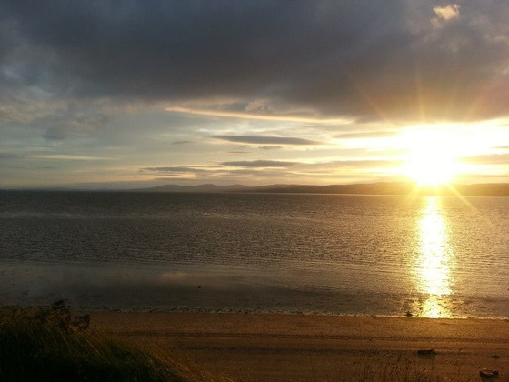 Northern Ireland - Tramonto a Magilligan Point - di cesto83
