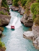 Queenstown shotover river jet - Nuova Zelanda