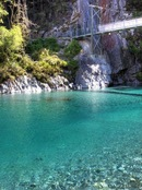Mt aspiring national park blue pools - Nuova Zelanda