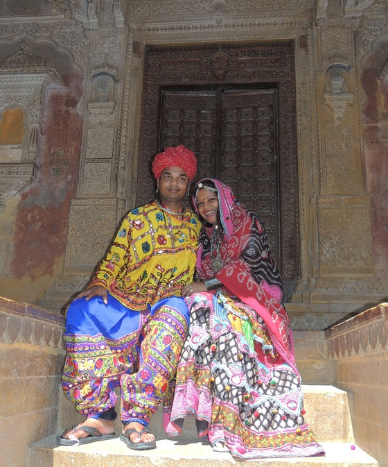 Rajasthan - just married - di alderighi
