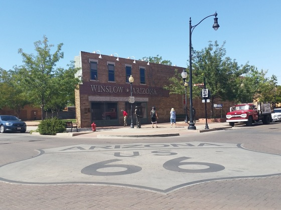 Route 66 - USA South West. Route 66, Standin' on the Corner Park, Winslow, Arizona - di Isa&Titti