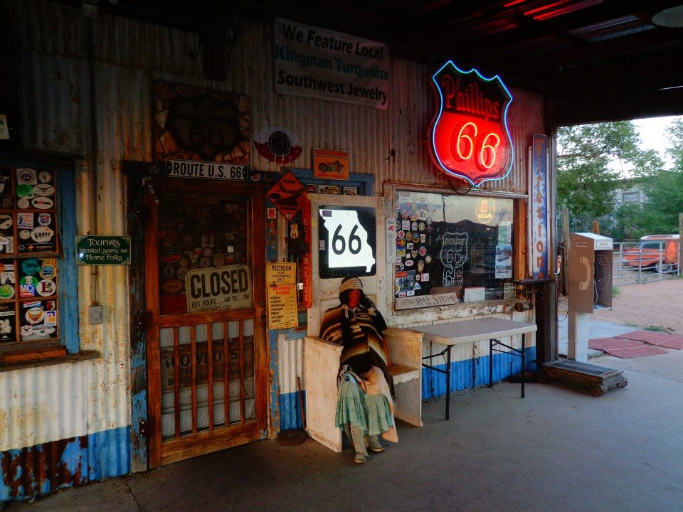 Route 66 - Gas Station