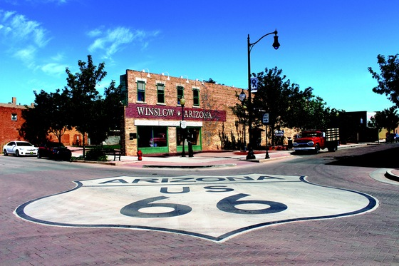 Route 66 - Winslow, AZ - di martinagatto