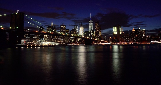 Stati Uniti d'America - Manhattan dal Brooklyn Bridge Park - di Redeyes5