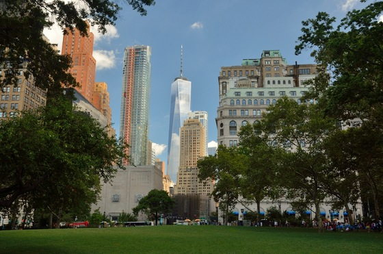 Stati Uniti d'America - Battery Park e Lower Manhattan - di Redeyes5