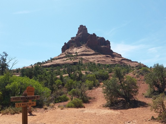 Stati Uniti d'America - USA South West. Bell Rock, Sedona, Arizona - di Isa&Titti