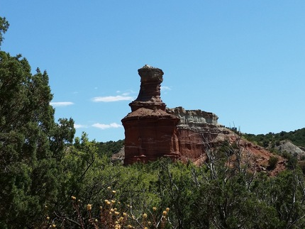 USA South West. Palo Duro Canyon, Texas