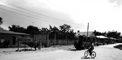 the road to Stone Town