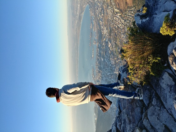 Sud africa - table mountain - di travelwithbrothers