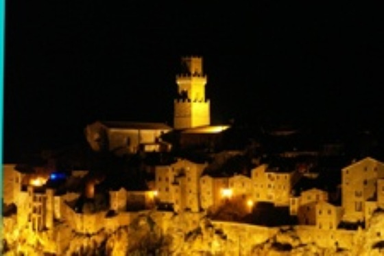 Toscana - Pitilgliano by night - di Lurens55