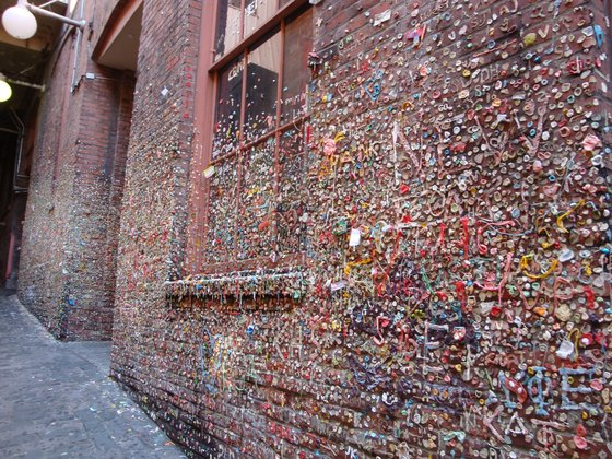 Usa - The Wall of Chewing Gum! - di ghiaccioevite