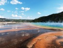 Prismatic geyser Yellowstone - Utah