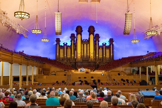 Utah - Auditorium del Tabernacle - Temple Square - Salt Lake City - di balzax
