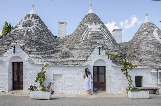 Viaggio on the road - Alberobello 1 - di Shinya