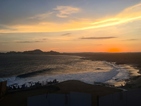 Viaggio on the road - Tramonto al Sunset Point, Cabo San Lucas - di giovy818