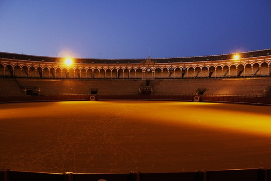 Viaggio on the road - Plaza de Toros, Siviglia - di Buk