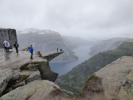 L'incredibile Trolltunga