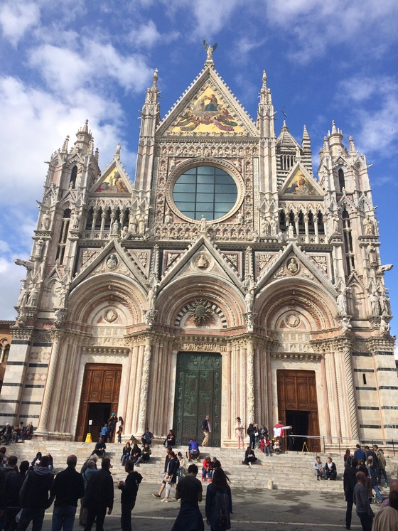 Viaggio on the road - Duomo di Siena - di paris15