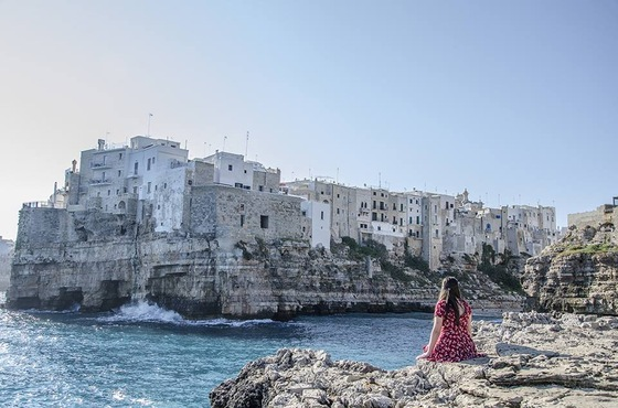 Viaggio on the road - Polignano a mare 8 - di Shinya