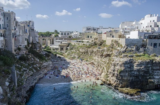 Viaggio on the road - Polignano a mare 10 - di Shinya