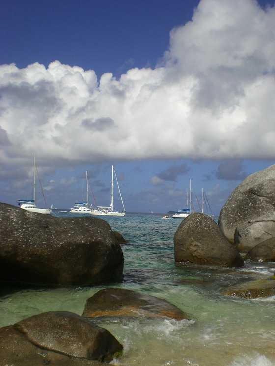 virgin gorda - isole vergini - di Angela Santinato