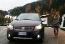 On the road sulle Dolomiti - Fiat Sedici