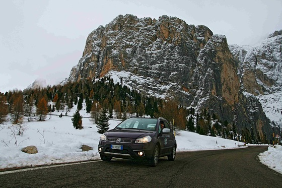 Fiat Sedici - On the road sulle Dolomiti - di FraRove