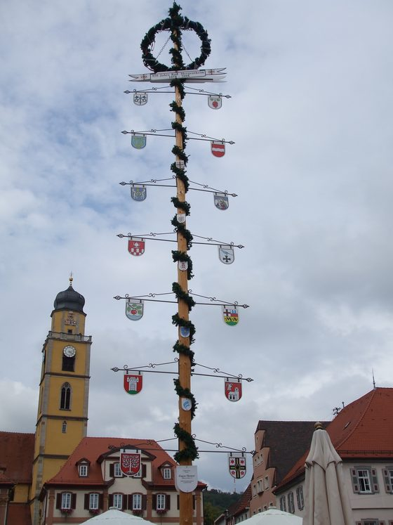 Bad Mergentheim - Marktplatz - di Frenchy