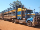 Road train nel deserto australiano - Kimberly - Broome