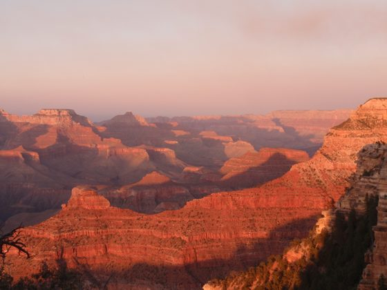 Grand Canyon - ...rosso di sera... - di michiidea