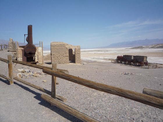 Stati Uniti d'America - BORAX IN THE DEATH VALLEY - di Spanty80