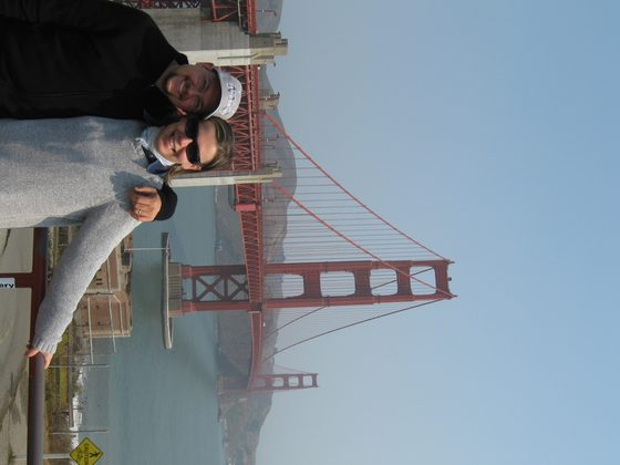 California - Golden Gate Bridge, San Francisco California - di pesci